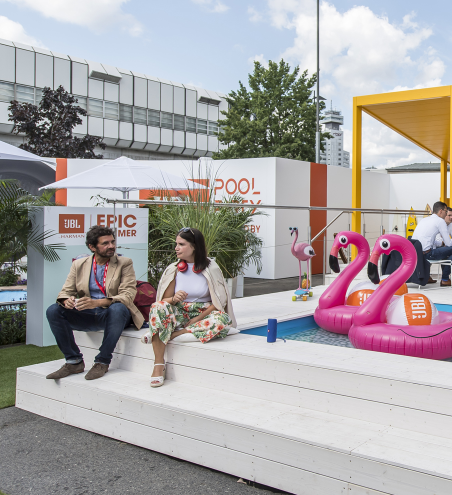 Harman live event design by MCCGLC at IFA Berlin