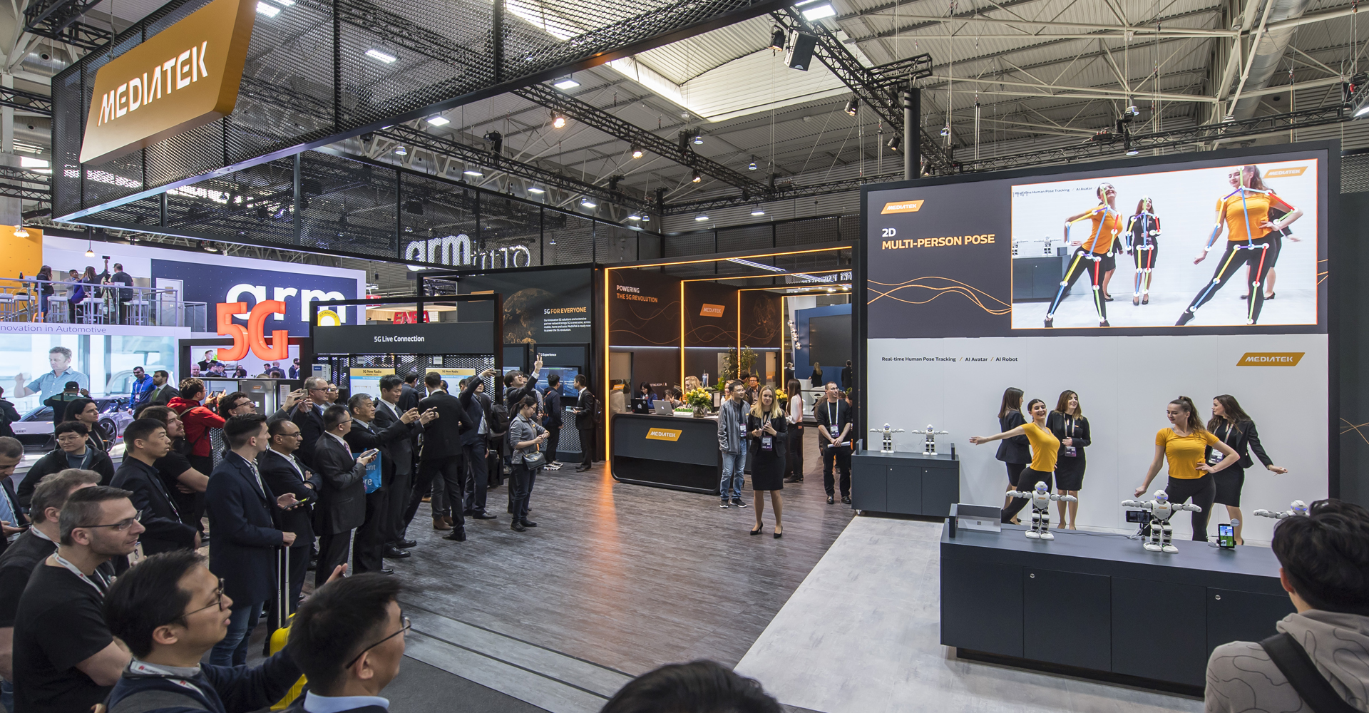 Mediatek with trade show marketing hosting events technology by MCCGLC