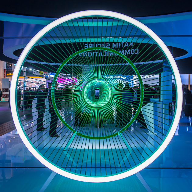 Darkmatter at Mobile World Congress with interactive technology and events technology by MCCGLC